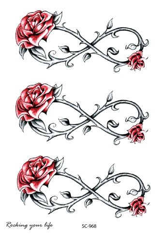 Infinity roses